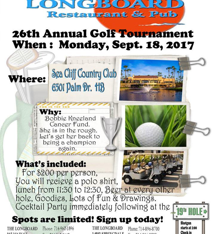 Longboard Golf Tournament 2017