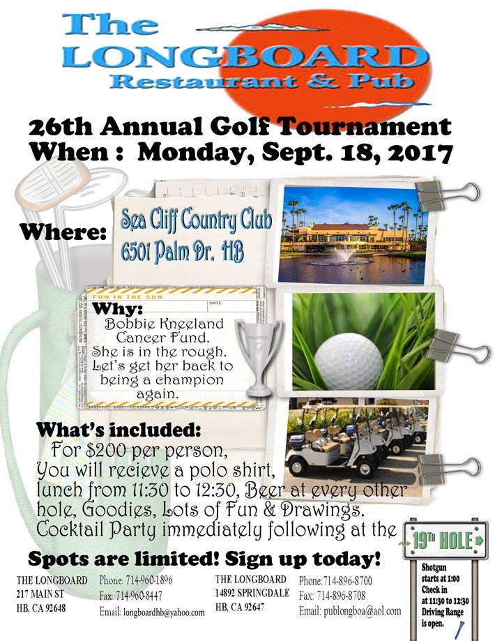 Longboard Golf Tournament 2017